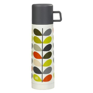 Orla Kiely - Fflasg - Scribble Stem - Flask